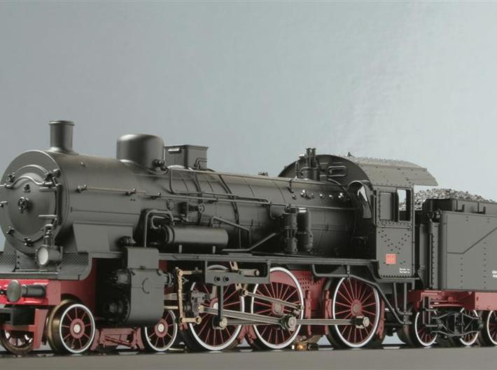 P8_Locomotive_1:285 3d printed HO-Size model.