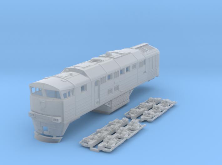 2TE-116 N Scale 3d printed