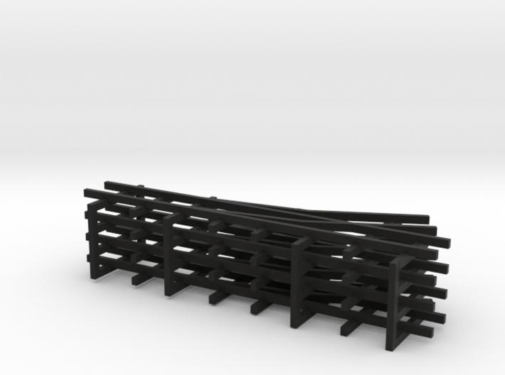 1/144 narrow gauge track set 3d printed