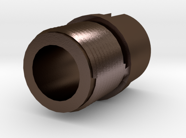 14mm- Muzzle Adapter for MP5 Front Iron Sight 3d printed