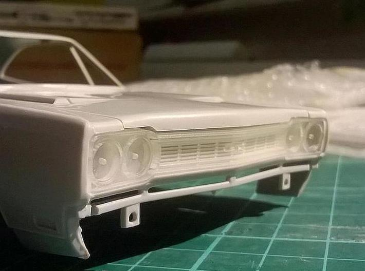 1/25 1968 Plymouth GTX Grill 3d printed printed sample