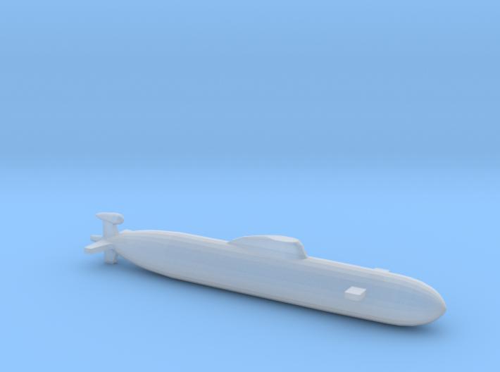 Akula SSN, Full Hull, 1/2400 3d printed