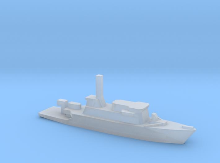 Gaeta class minehunter, 1/2400 3d printed