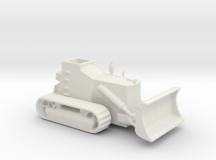 Armoured Bulldozer d7 1/100 ww2 3d printed