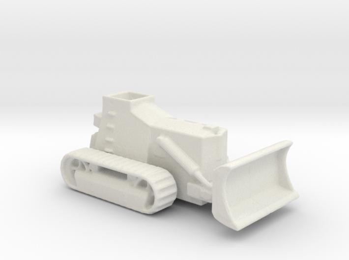 Armoured Bulldozer d7 1/200 ww2 3d printed