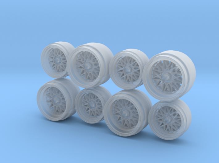 BBS Centerlock E19 Magnesium Staggered Hot Wheels 3d printed