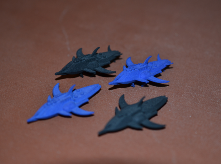 1/10 000 Chuyinka Heavy Weapons Dreadnought 3d printed Carrier dreadnoughts and heavy weapons dreadnoughts