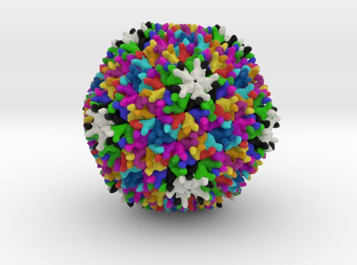 Birnavirus 3d printed