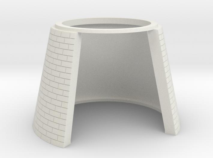 HOF013 - Base for castle round tower HOF011 3d printed