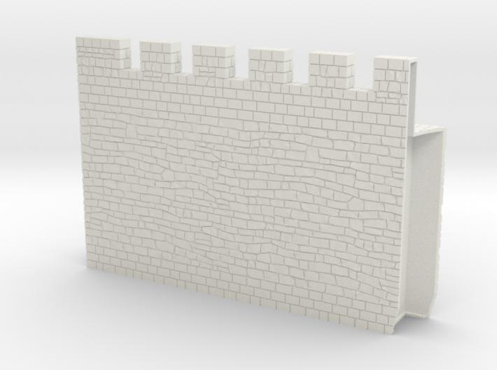 HOF034  - Castle wall 4 3d printed