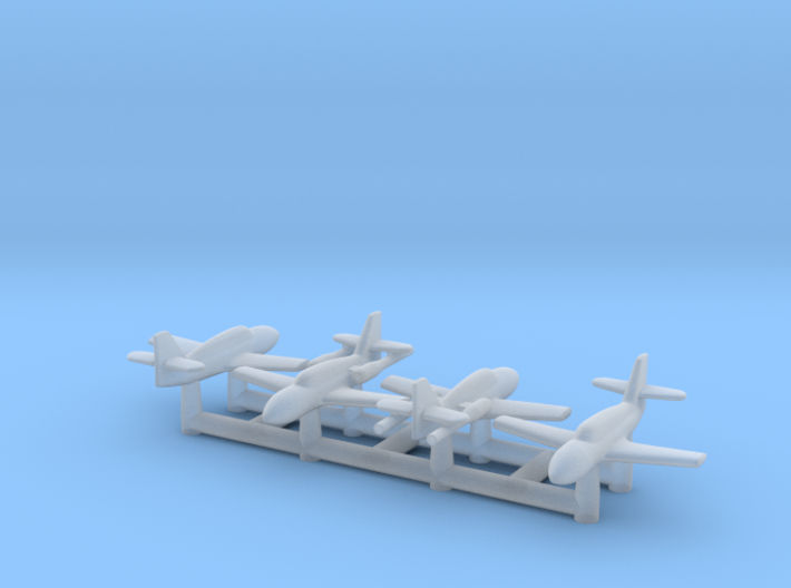 (1:700) Messerschmitt (2x Me 328 B + 2x Me 328 V1) 3d printed