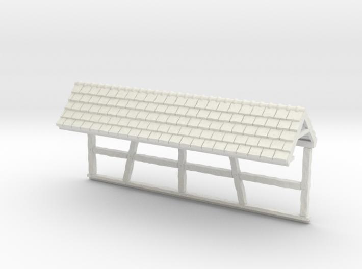 HOF035b - Roof for castle wall 5 3d printed