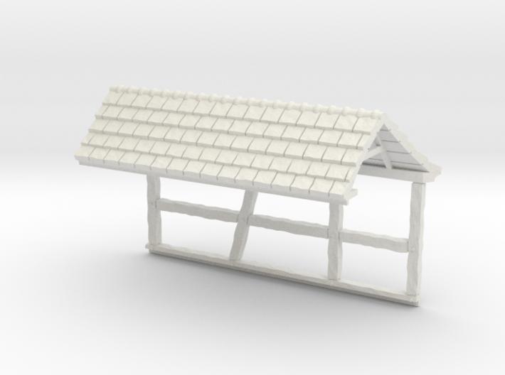 HOF036b - Roof for castle wall 6 3d printed