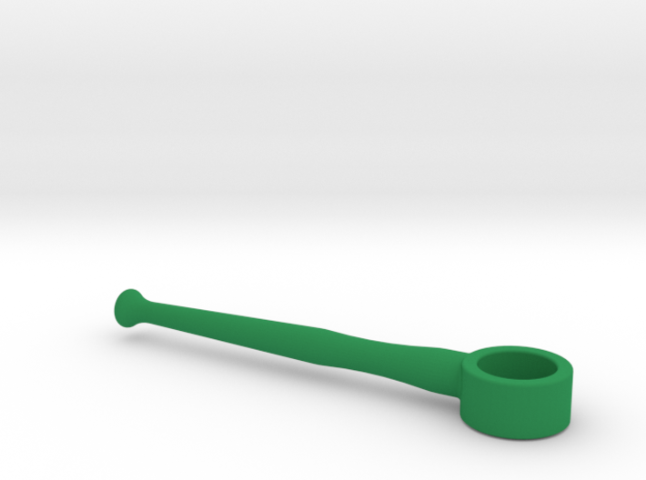 Horn Mouthpiece Rim Handle Trainer - 0.67 Inch ID 3d printed