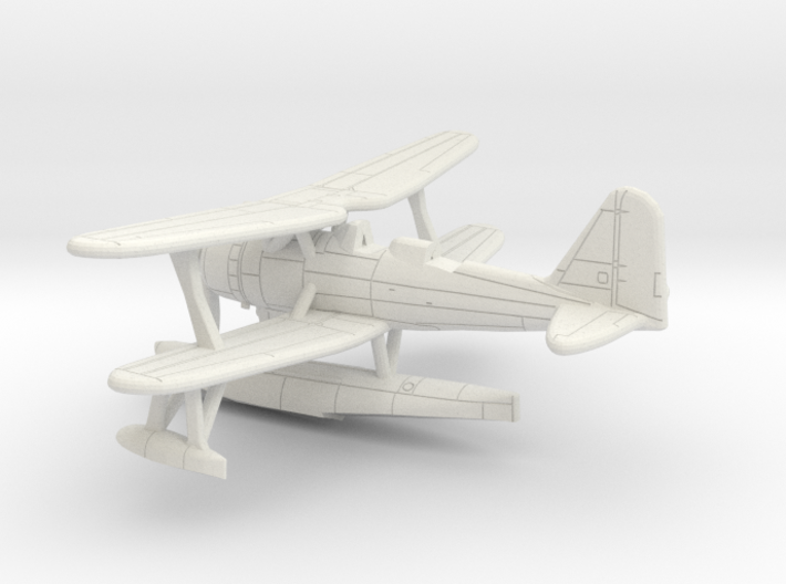 1/285 IJN Mitsubishi F1M2 'Pete' Type 0 Observatio 3d printed