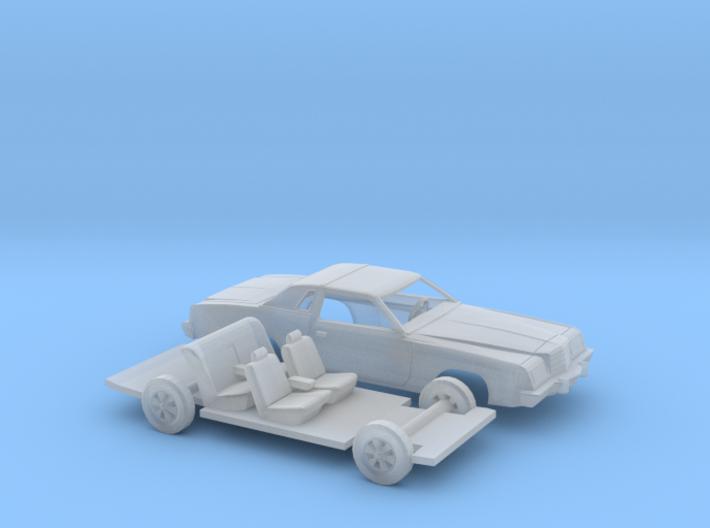 1/160 1979 Dodge Magnum Kit 3d printed