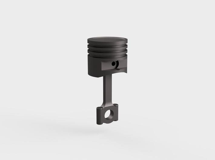 Piston#1(Dish Top)(Rod2)(Solid)(10/15/25mm) 3d printed