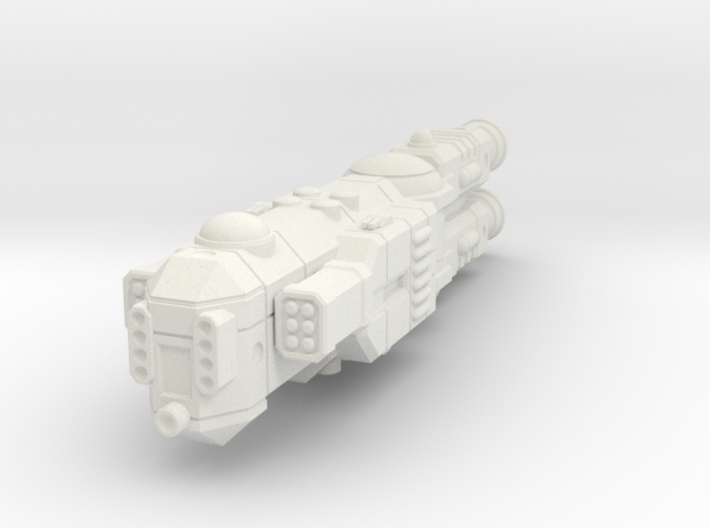 MCSF Light Cruiser 3d printed