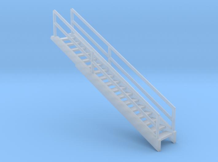 'N Scale' - 36' Bin - Stairway 3d printed