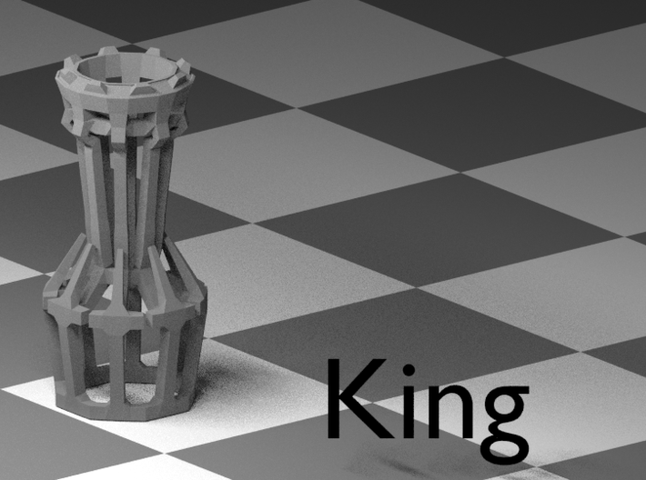 The Wire - Chess Set 3d printed