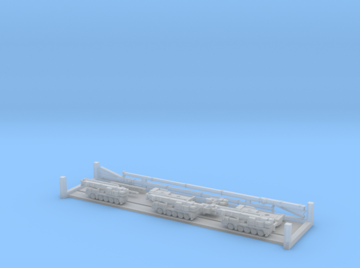 Liebherr LTM 1095-5.1 Mobile Crane (1:1250) 3d printed