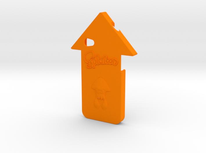 iPhone 4 Splatoon Squid Case 3d printed