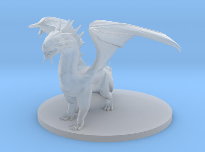 Young Bronze Dragon 3d printed