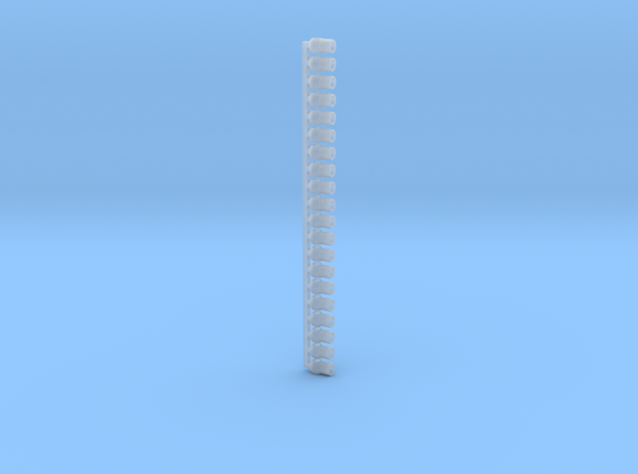 """1/64 4"""" Flex Auger Outlet Drops 3d printed"""