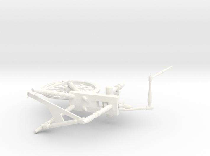 Spinning Wheel 1:12 3d printed