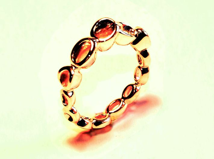 Dont know much about biology Ring.(From $13) 3d printed Gold Ring