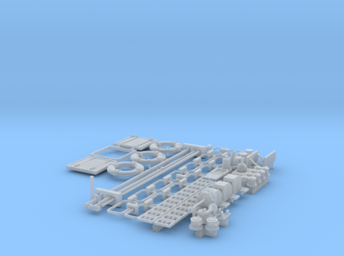 1/30 PT Boat Small Parts Set502 3d printed