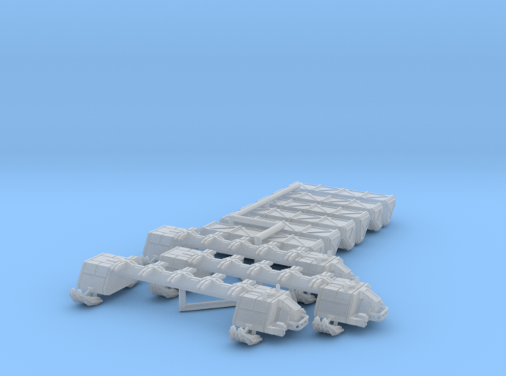 6mm Cargo GravSled (3) 3d printed