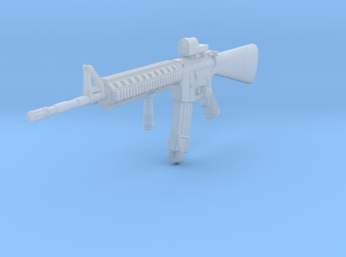 1/16th M16A4 Reflex optics foregrip 3d printed