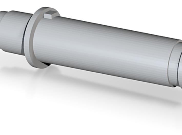 Short Barrel - Ready for M14 Thread 3d printed