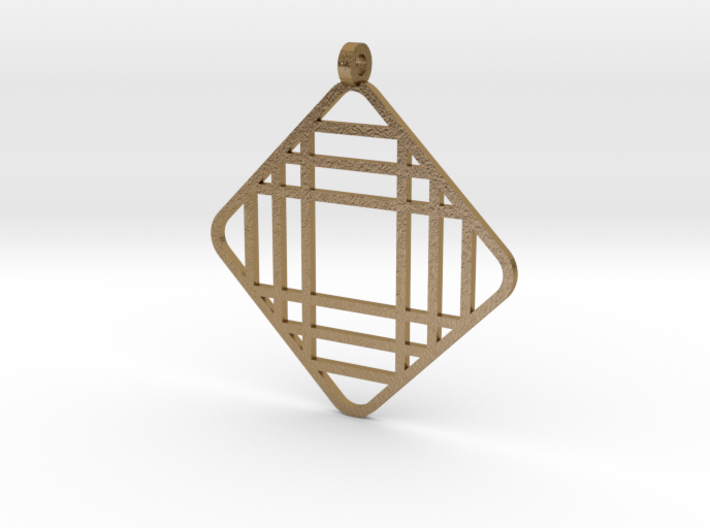 Grid 1 - Pendant 3d printed