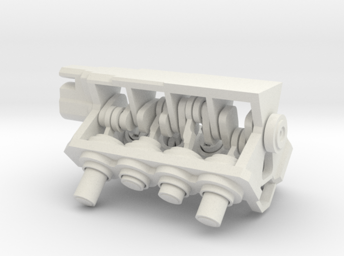 V8 Mini-engine 3d printed