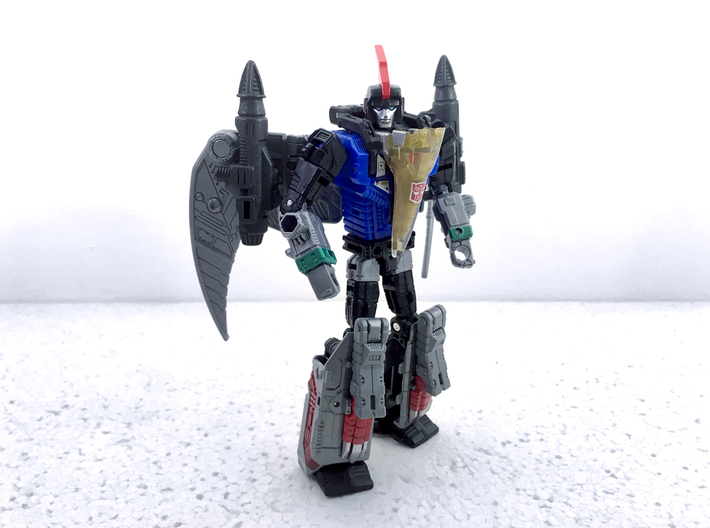 POTP Swoop G1 Styled Missiles 3d printed Painted model shown