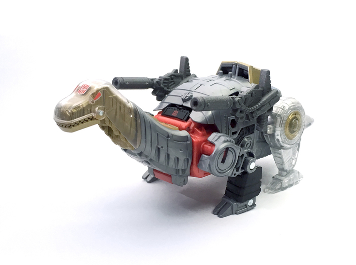 POTP Sludge G1 Styled Blasters (paired set) 3d printed Painted model shown