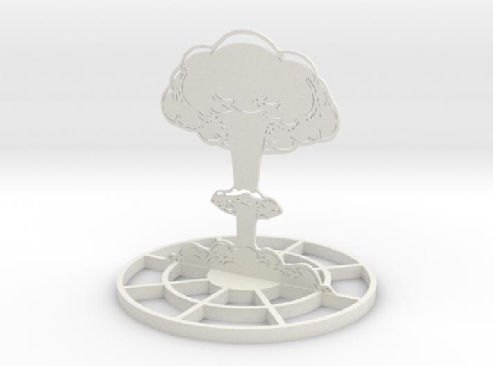 detailed mushroom cloud marker template ek78qhx6s by