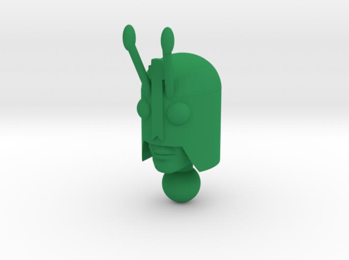 Time Traveler Bug Head 3d printed