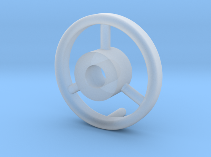 B15F Hand Wheel for Search Light 3d printed