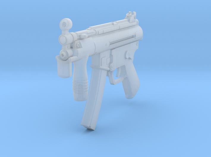 1/12th MP5K 3d printed