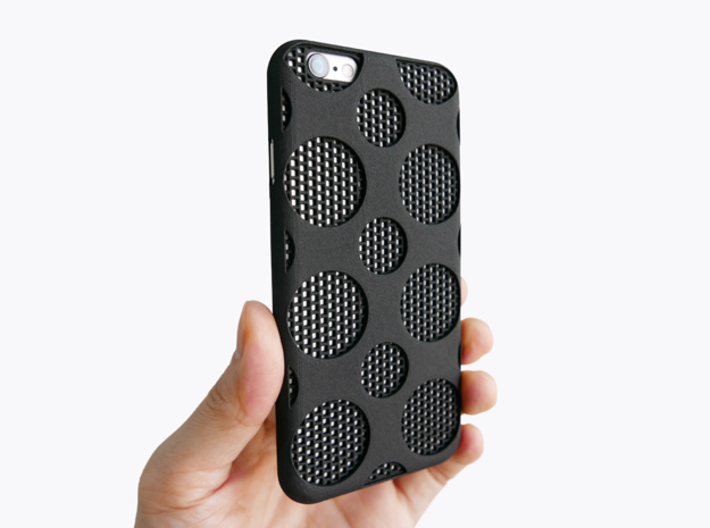 iPhone 6/6S Case_Dots 3d printed