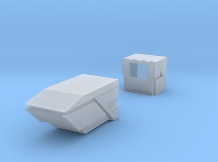 Robot V Laser Mod 3d printed