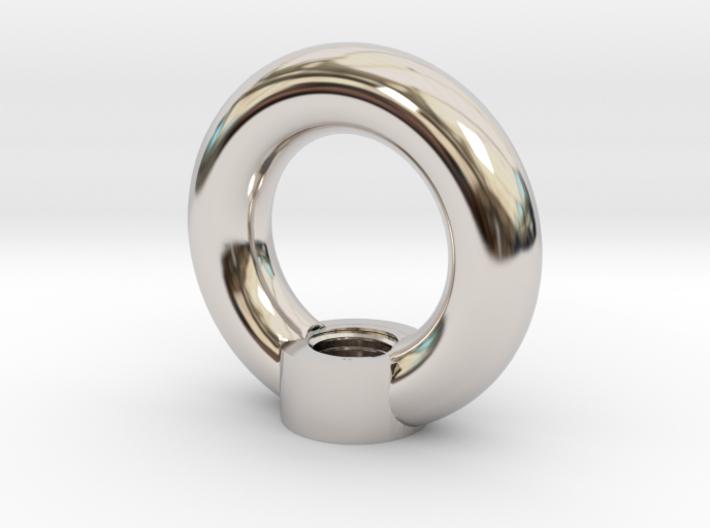 Oese-Flansch-Gewinde (Eyelet) 3d printed