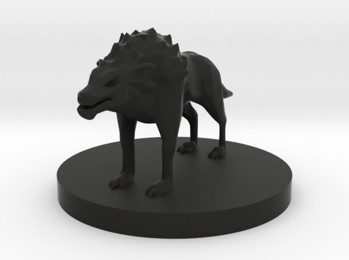 Hell Hound 3d printed