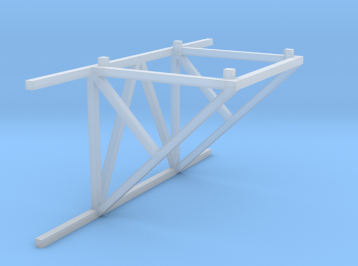 1/64 10' Support Tower Catwalk Connection 3d printed