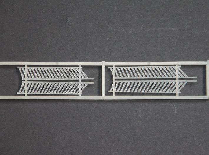1:72 HMS Victory Side Gallery Decoration 3d printed