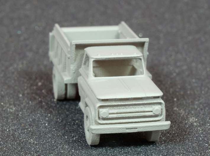 N scale Dump Truck, WOT#975045 3d printed showing primed