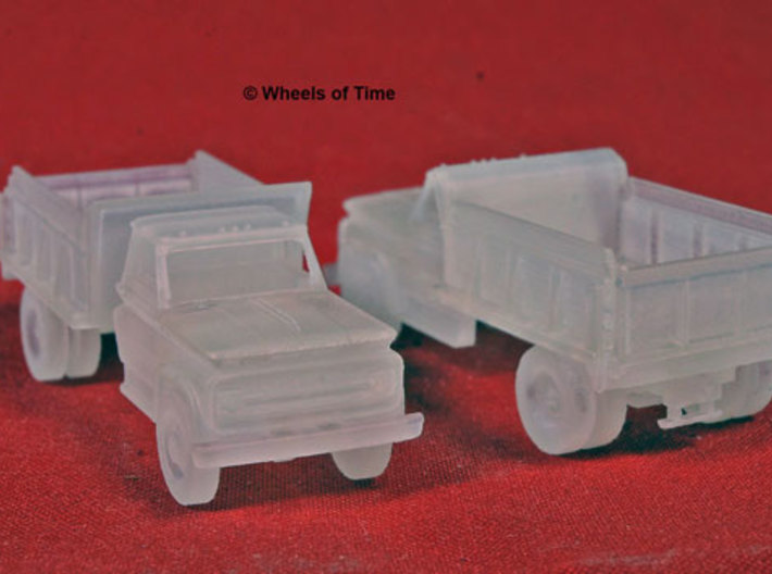 N scale Dump Truck, WOT#975045 3d printed FXD, FUD